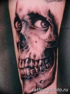 Фото рисунка тату череп 24.11.2018 №300 - photo tattoo skull - tattoo-photo.ru