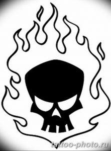 Фото рисунка тату череп 24.11.2018 №305 - photo tattoo skull - tattoo-photo.ru