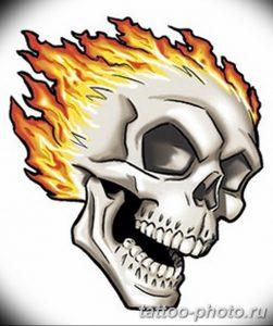 Фото рисунка тату череп 24.11.2018 №308 - photo tattoo skull - tattoo-photo.ru