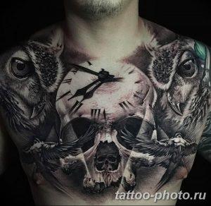 Фото рисунка тату череп 24.11.2018 №314 - photo tattoo skull - tattoo-photo.ru