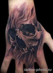 Фото рисунка тату череп 24.11.2018 №317 - photo tattoo skull - tattoo-photo.ru