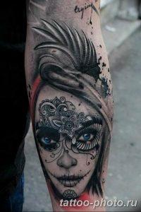 Фото рисунка тату череп 24.11.2018 №325 - photo tattoo skull - tattoo-photo.ru