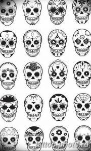 Фото рисунка тату череп 24.11.2018 №328 - photo tattoo skull - tattoo-photo.ru