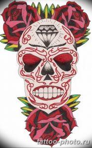 Фото рисунка тату череп 24.11.2018 №330 - photo tattoo skull - tattoo-photo.ru