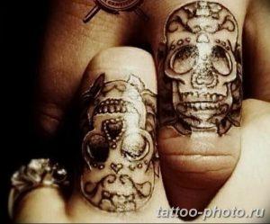 Фото рисунка тату череп 24.11.2018 №332 - photo tattoo skull - tattoo-photo.ru