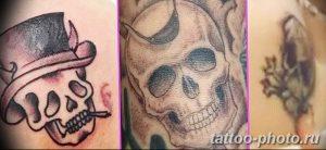 Фото рисунка тату череп 24.11.2018 №337 - photo tattoo skull - tattoo-photo.ru