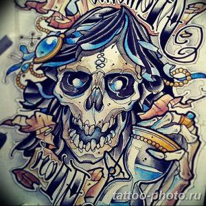 Фото рисунка тату череп 24.11.2018 №353 - photo tattoo skull - tattoo-photo.ru