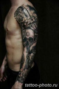 Фото рисунка тату череп 24.11.2018 №355 - photo tattoo skull - tattoo-photo.ru