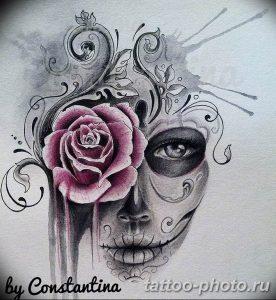 Фото рисунка тату череп 24.11.2018 №368 - photo tattoo skull - tattoo-photo.ru