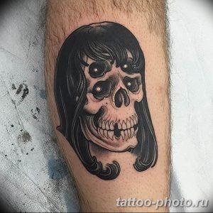 Фото рисунка тату череп 24.11.2018 №370 - photo tattoo skull - tattoo-photo.ru