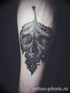 Фото рисунка тату череп 24.11.2018 №372 - photo tattoo skull - tattoo-photo.ru