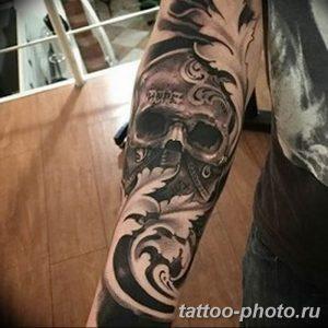 Фото рисунка тату череп 24.11.2018 №379 - photo tattoo skull - tattoo-photo.ru
