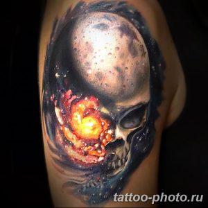 Фото рисунка тату череп 24.11.2018 №381 - photo tattoo skull - tattoo-photo.ru