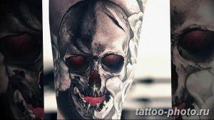 Фото рисунка тату череп 24.11.2018 №382 - photo tattoo skull - tattoo-photo.ru