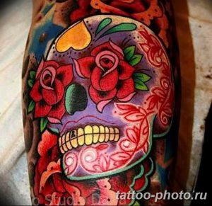 Фото рисунка тату череп 24.11.2018 №389 - photo tattoo skull - tattoo-photo.ru