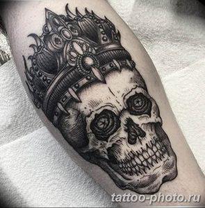 Фото рисунка тату череп 24.11.2018 №391 - photo tattoo skull - tattoo-photo.ru