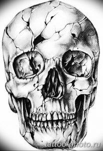 Фото рисунка тату череп 24.11.2018 №393 - photo tattoo skull - tattoo-photo.ru