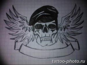 Фото рисунка тату череп 24.11.2018 №394 - photo tattoo skull - tattoo-photo.ru