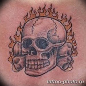 Фото рисунка тату череп 24.11.2018 №395 - photo tattoo skull - tattoo-photo.ru