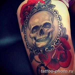 Фото рисунка тату череп 24.11.2018 №400 - photo tattoo skull - tattoo-photo.ru