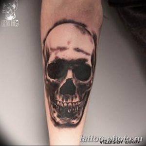 Фото рисунка тату череп 24.11.2018 №401 - photo tattoo skull - tattoo-photo.ru