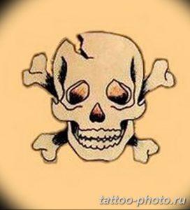 Фото рисунка тату череп 24.11.2018 №403 - photo tattoo skull - tattoo-photo.ru