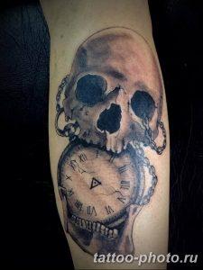 Фото рисунка тату череп 24.11.2018 №413 - photo tattoo skull - tattoo-photo.ru