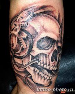 Фото рисунка тату череп 24.11.2018 №415 - photo tattoo skull - tattoo-photo.ru