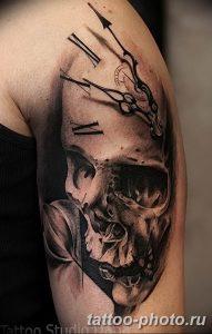 Фото рисунка тату череп 24.11.2018 №416 - photo tattoo skull - tattoo-photo.ru