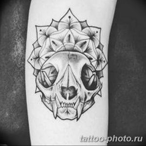 Фото рисунка тату череп 24.11.2018 №417 - photo tattoo skull - tattoo-photo.ru