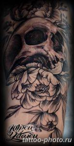 Фото рисунка тату череп 24.11.2018 №426 - photo tattoo skull - tattoo-photo.ru