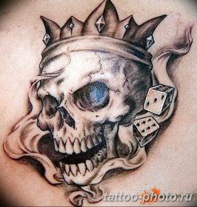 Фото рисунка тату череп 24.11.2018 №428 - photo tattoo skull - tattoo-photo.ru