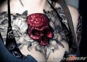 Фото рисунка тату череп 24.11.2018 №435 - photo tattoo skull - tattoo-photo.ru
