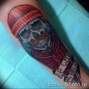 Фото рисунка тату череп 24.11.2018 №443 - photo tattoo skull - tattoo-photo.ru