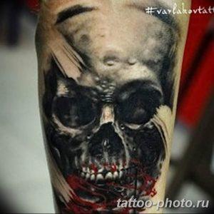 Фото рисунка тату череп 24.11.2018 №449 - photo tattoo skull - tattoo-photo.ru
