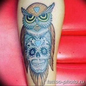 Фото рисунка тату череп 24.11.2018 №451 - photo tattoo skull - tattoo-photo.ru