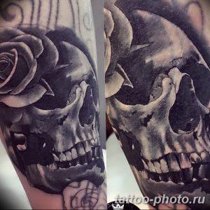 Фото рисунка тату череп 24.11.2018 №454 - photo tattoo skull - tattoo-photo.ru