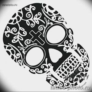 Фото рисунка тату череп 24.11.2018 №462 - photo tattoo skull - tattoo-photo.ru