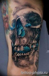 Фото рисунка тату череп 24.11.2018 №468 - photo tattoo skull - tattoo-photo.ru