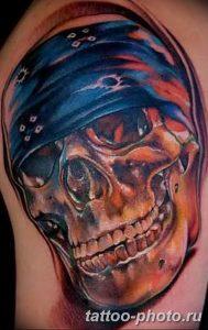 Фото рисунка тату череп 24.11.2018 №469 - photo tattoo skull - tattoo-photo.ru