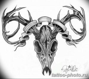 Фото рисунка тату череп 24.11.2018 №470 - photo tattoo skull - tattoo-photo.ru