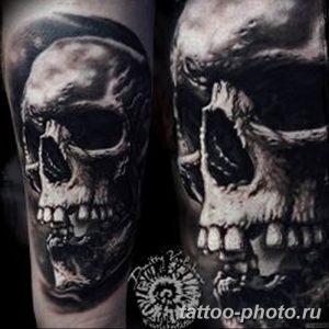 Фото рисунка тату череп 24.11.2018 №476 - photo tattoo skull - tattoo-photo.ru