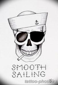 Фото рисунка тату череп 24.11.2018 №478 - photo tattoo skull - tattoo-photo.ru
