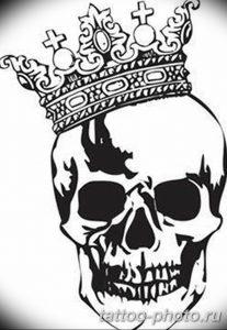 Фото рисунка тату череп 24.11.2018 №479 - photo tattoo skull - tattoo-photo.ru