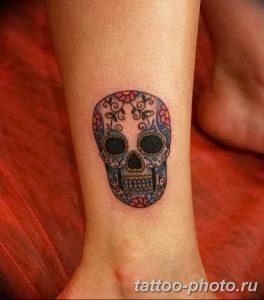 Фото рисунка тату череп 24.11.2018 №481 - photo tattoo skull - tattoo-photo.ru