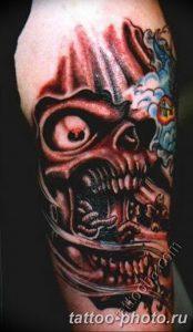 Фото рисунка тату череп 24.11.2018 №486 - photo tattoo skull - tattoo-photo.ru