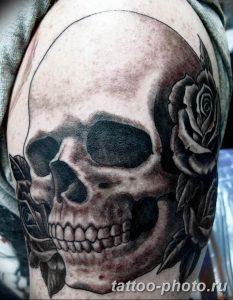 Фото рисунка тату череп 24.11.2018 №488 - photo tattoo skull - tattoo-photo.ru