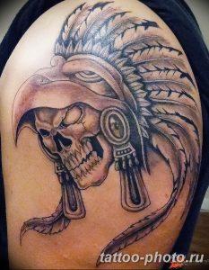 Фото рисунка тату череп 24.11.2018 №489 - photo tattoo skull - tattoo-photo.ru