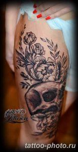 Фото рисунка тату череп 24.11.2018 №493 - photo tattoo skull - tattoo-photo.ru