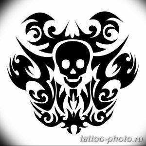 Фото рисунка тату череп 24.11.2018 №498 - photo tattoo skull - tattoo-photo.ru